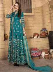 Designer Heavy Embroidery Work (Semi Stitch) Suit
