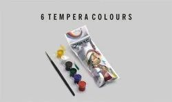 Doms Tempera Colours 6 Shades