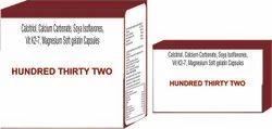 Calcitriol Calcium Carbonate Soya Isoflavones Vit K2-7 Magnesium Soft Gelatin Capsules