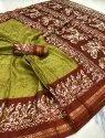Batik Printed Pecasso Sarees