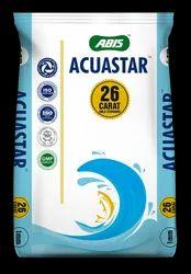 ABIS Acuastar 26 Carat Gold Standard Floating Fish Feed