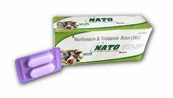 Norfloxacin & Tinidazole Bolus (Vet)
