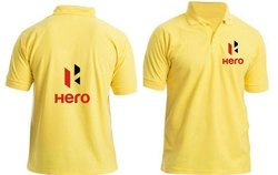 Cotton, Polyester Corporate T Shirt