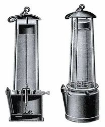 Davy S Safety Lamp