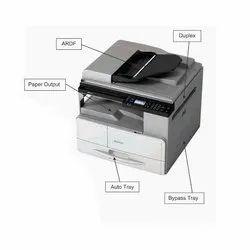 600 Dpi Black & White Ricoh M 2701 Multifunction Printer, Laserjet, 27ppm