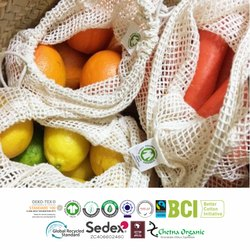 Fair Trade Organic Cotton String Bags