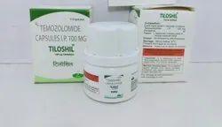 Tiloshil 20mg/100mg/250 Capsule, Temozolomide