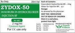 50 mg Doxorubicin Injection
