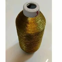 Golden Glossy  Embroidery Threads