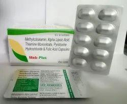 Methylcobalamin, Folic Acid & Alpha Lipoic Acid Capsules