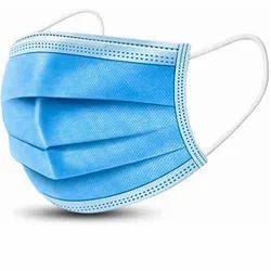 3 Ply Disposable Non Woven Protective Face Mask