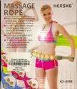 Body Massage Roller Rope - Portable Handheld Upper Lower Back Shoulder Neck Foot Rolling Balls