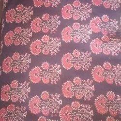 44-45 Ajrakh Printed Cotton Suit Fabric, GSM: 50-100