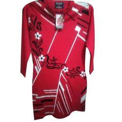 Diksha Ladies Woolen Trendy Kurti, Handwash