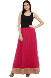 Magnificent Magenta Readymade Skirt