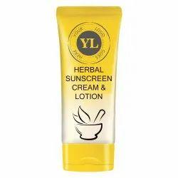 Herbal Sunscreen Cream & Lotion, Tube