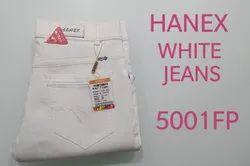 Hanex Super White Denim Jeans