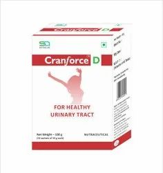 Cranforce D Health Supplement for Urinary Tract Infection UTI