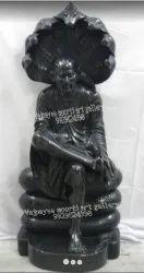 Black Marble Sai Baba Statue