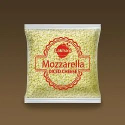 Lakhani Mozzarella Diced Cheese, Packaging Size: 1 Kg, Packaging Type: Packet