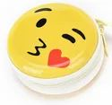 ROQ Smiley Aluminium Zipper Headphone Pouch