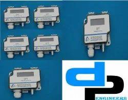 Aerosense Model DPT 7000-R8-3W Differential Pressure Transmitter Range 0-2000 Pascal