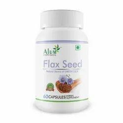 Flax Seed Soft Gel Capsule