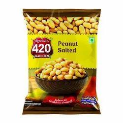 Salted Peanut Namkeen, Packaging Size: 25 G, Packaging Type: Packet