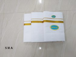 Handloom Cotton Zari Dhoti 8 Mulam Traditional Angavastram