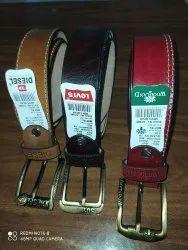 Casual Wear Casual Belt Full Grain Leather Belts, Size: 40-50