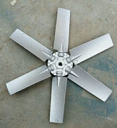 Aluminium Fan Blade, Number Of Blades: 6, Blade Size: 250-1400mm Available