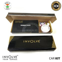 Involve Standard Car Kit - Car Perfume, Car Tissue, Car Wiper Fluid