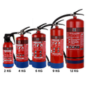 75kg Ms Sp Red ABC Powder-Based Portable & Wheeled Extinguisher Map 90