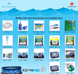 Kisanflex Biofloc Fish Tank Accessories, Packaging Type: Packet