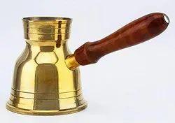 Brass Coffee Warmer, Capacity: 200 Ml