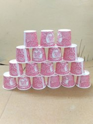 Disposable Printed Paper Tea Cup 35ml