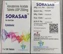 Sorasab 250 Mg Tablet Abiraterone
