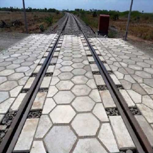 Grey Hexagonal Paver Block, for Pavement