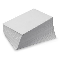 White Wood Free Coated Paper, Single Side, GSM: 50-150