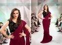 Saroj Film Fare Frill Fancy Saree Catalog Collection At Textile Mall