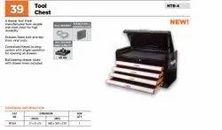 BLACK Rectangular Groz Tool Chest MTB-4, Size: 27 X 12 X 15 Inch