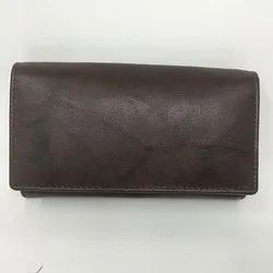 Dark Tan Ladies Wallet