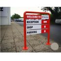 Outdoor Directional Signage Board