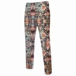 Mens Printed Pants