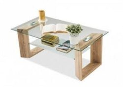 Natural Glass Center Table