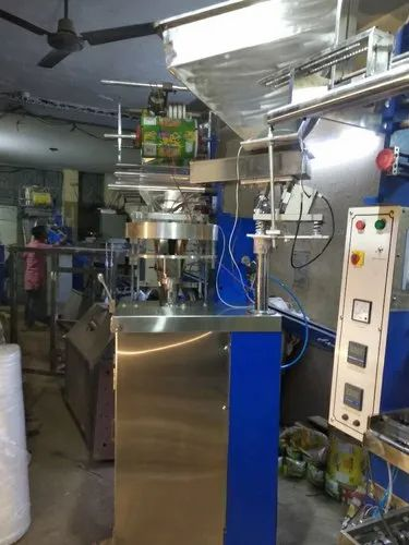 2 kW Automatic Plastic Film Snacks Packaging Machine