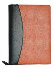 Brown Leather File, For Office, Packaging Size: 50/Box