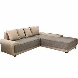 4 Seater L Shape Corner Sofa Set
