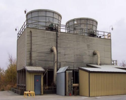 Alsus Cross Flow Wooden Cooling Towers, Cooling Capacity: 100 To 5000 Ltr., Tower Type : Induced Draft