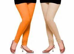 Churidar Plain Ladies Cotton Leggings